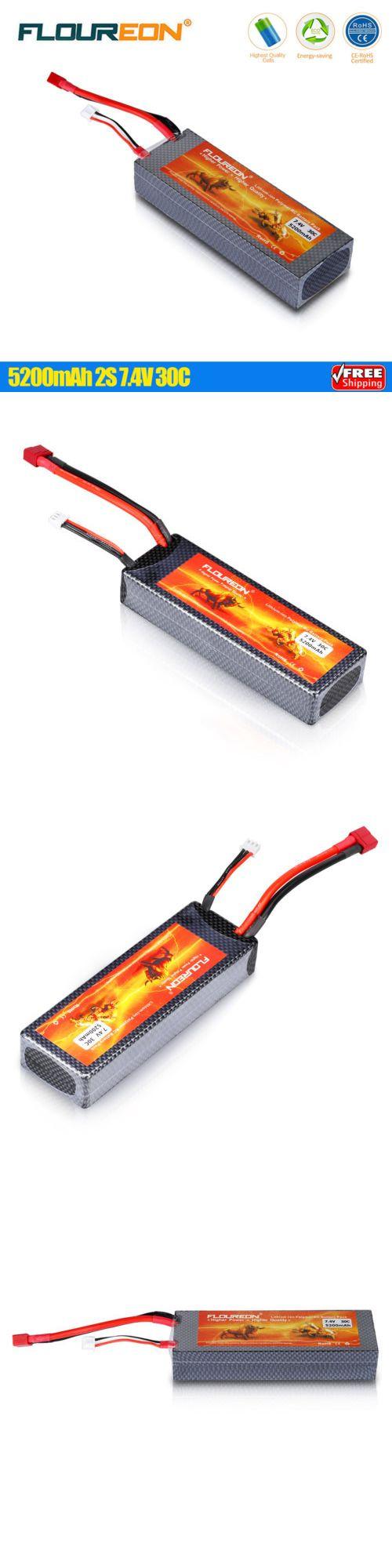Batteries 40700: 5200Mah 2S 7.4V 30C Lipo Battery Pack T