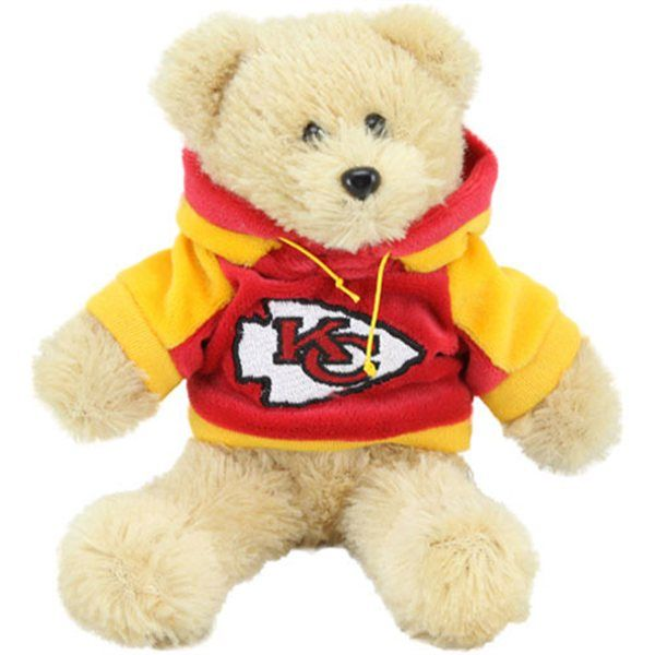 NFL Kansas City Chiefs Teddy Bears. The special way to a fans heart is to feed their need for goodies of their favorite team. Give them their own fan cave.