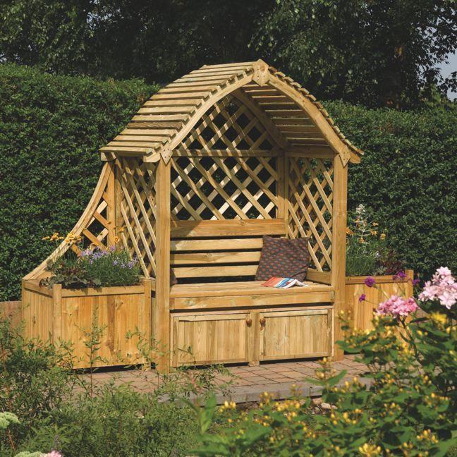 Arran Arbour Arbours Garden Structures Pinterest