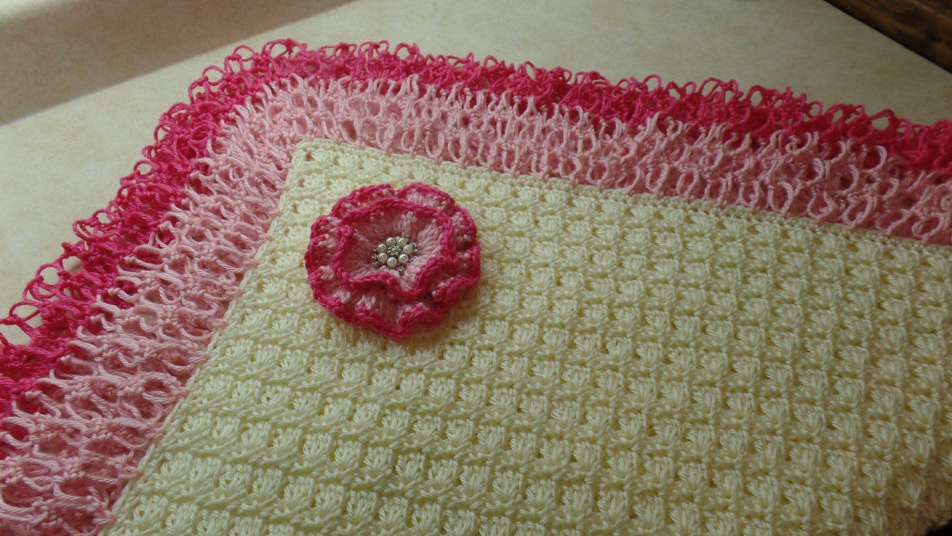 Crochet how to crochet beautiful lacy baby blanket tutorial 286 crochet how to crochet beautiful lacy baby blanket tutorial 286 baditri Image collections