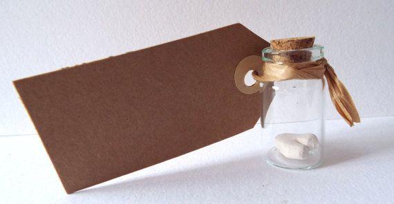 Teeny weeny Porcelain Heart in a jar... by Shoppywop on Etsy, £2.00