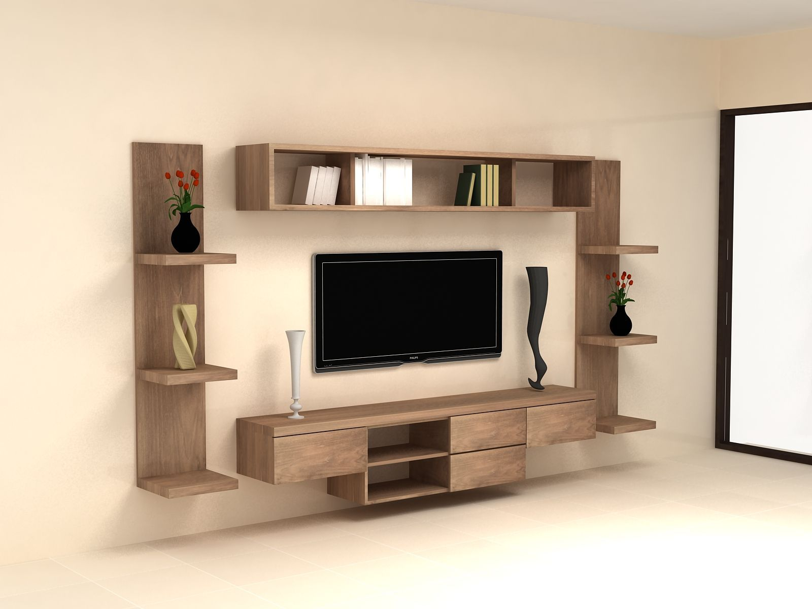 Charming Tv Cabinet Wall Units Living Room With Images Modern
