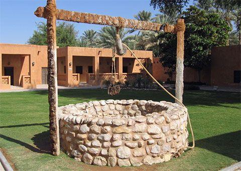 resultado de imagen de pozos de agua en jardin