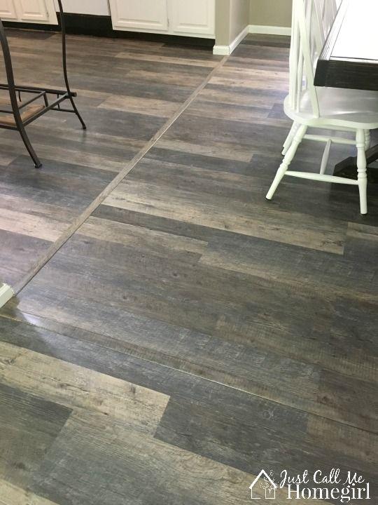 Lifeproof Luxury Vinyl Plank Flooring Fixer Upper Design