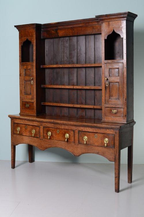 Georgian Antique Oak Welsh Dresser