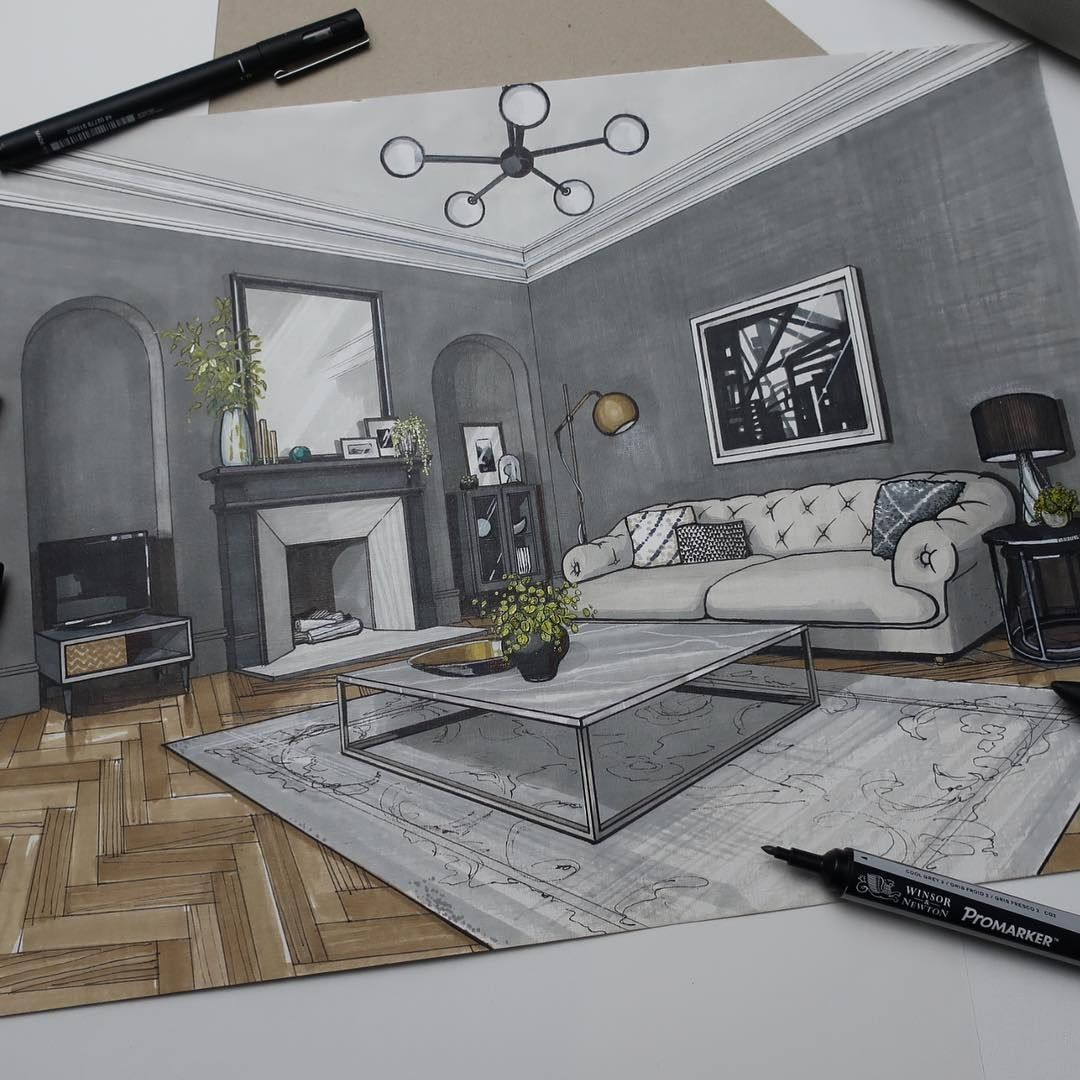 Victorian House Interior Design Ideas: Interior Design Drawings Of A Victorian House In 2020