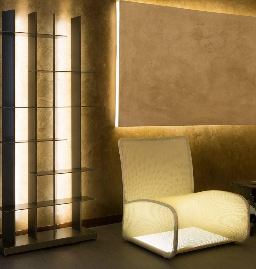 Natevo illuminates Cologno Monzese and Hamburg - furniture with integrated LED @NatevoFurniture