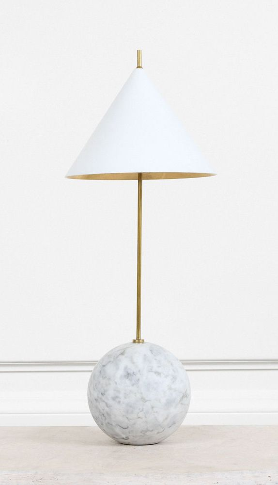 Cleo orb base accent lamp high end luxury design furniture and decor