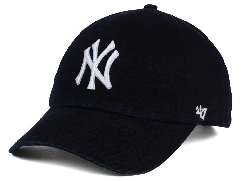 New York Yankees 47 Mlb Core 47 Clean Up Cap Yankees Hat Baseball Hats New York Yankees