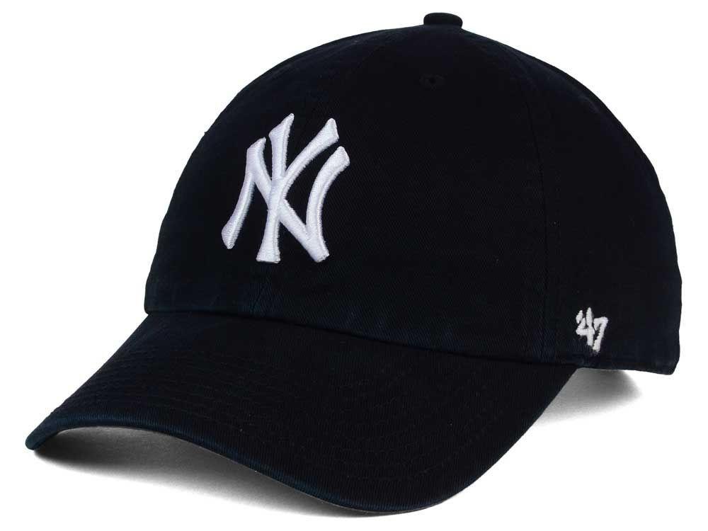 New York Yankees 47 Mlb Core 47 Clean Up Cap New York Yankee Hat Yankees Cap Yankees Hat
