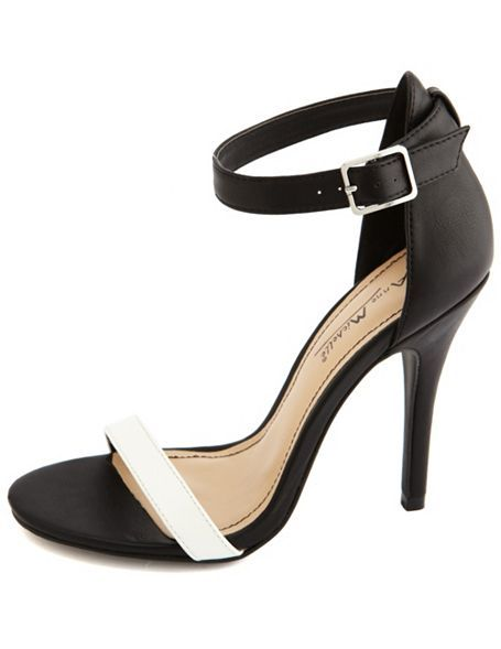 Ankle-Strap Single Sole Heel: IF YOU DONT ALREADY OWN A PAIR OF HEELS LIKE THIS--YOU DONT HAVE FASHION TASTE