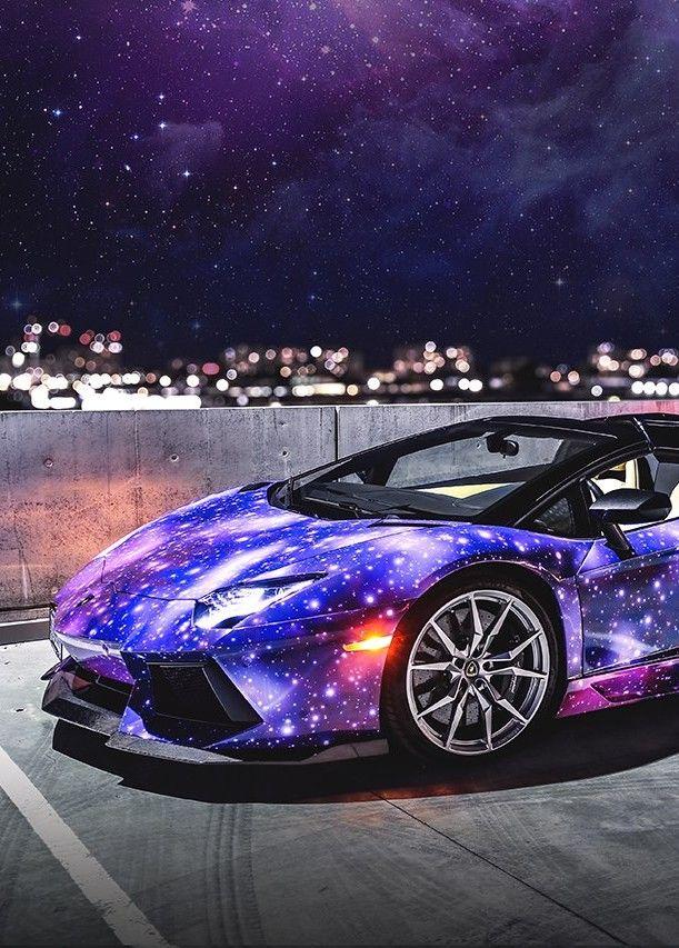 Lamborghini Aventador Galaxy I Love Lamborghini Cars