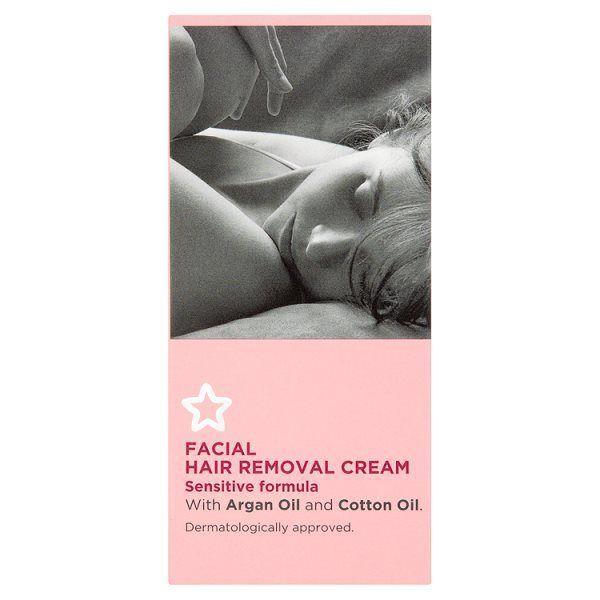 Superdrug Facial Hair Removal Cream Sensitive 13ml | Celebrity ...