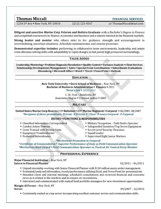 University Student Resume Example Sample resume, Resume examples - event planner sample resume