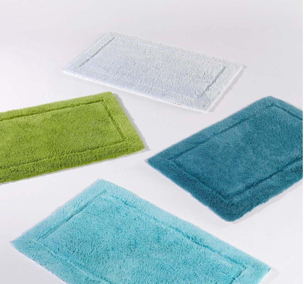 Pea Color Bath Rugs