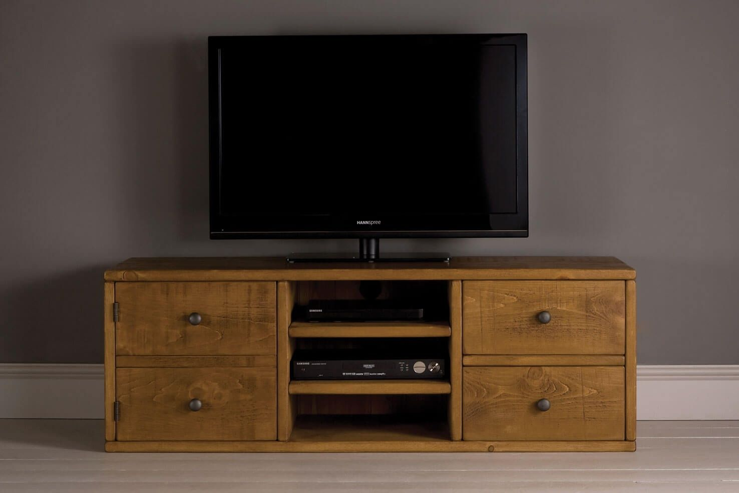 Plank cubbyhole tv cabinet handcrafted by indigo furniture lounge