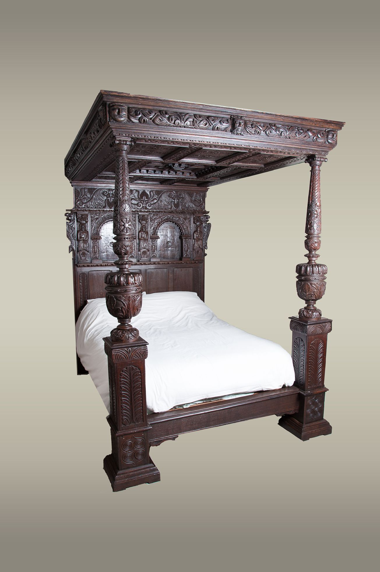 Dreams Beds Northampton Elizabethan Tester Bed Circa 1580 Marhamchurch Antiques