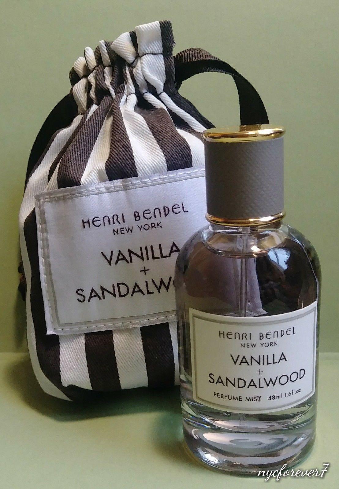 CLICK FOR FULL DETAILS Henri Bendel NYC Sandalwood Vanilla