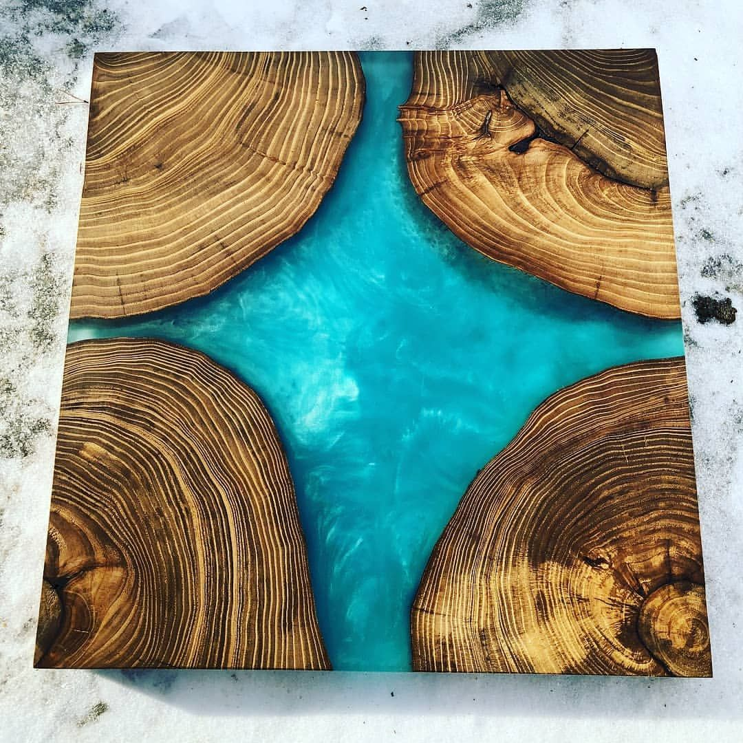 Pin by Jessica Burgess on Home Bar in 2019 Epoxy wood