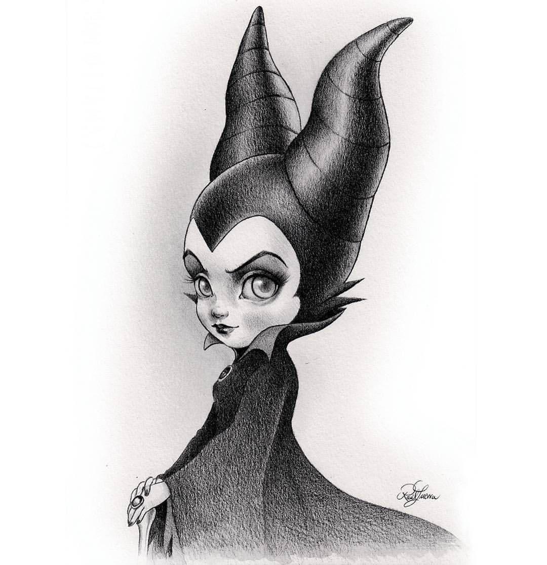Mistress Of All Evil Mabsdrawlloweenclub Day 28 Villain