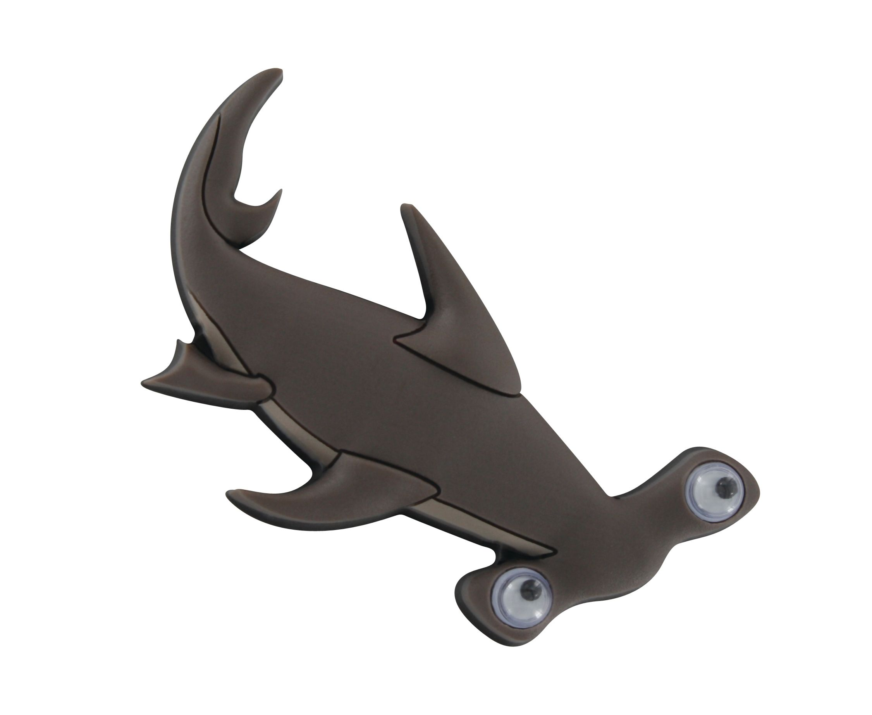 Croc charms, Hammerhead shark