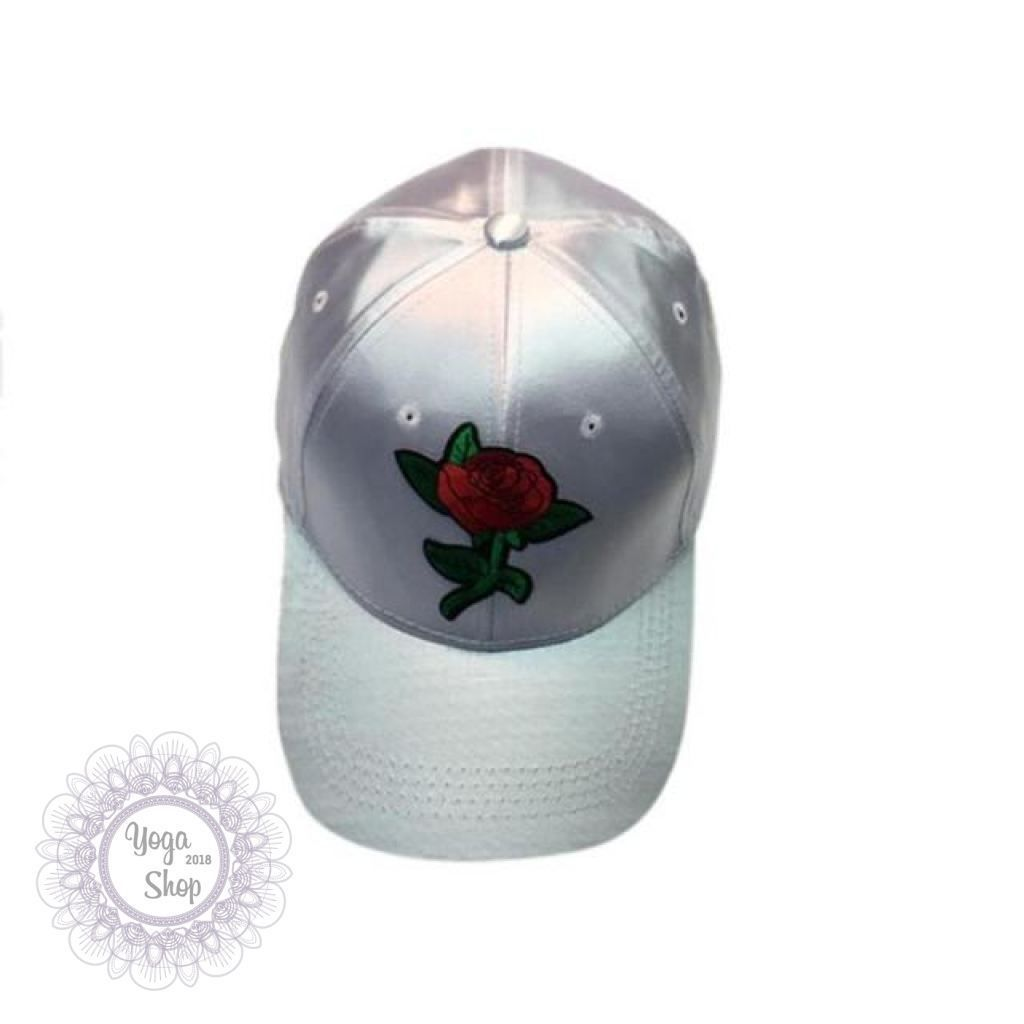 e24fc40980b Rose Embroidery Baseball Cap Cool Men Women Caps Fashion Adjustable Couple Snapback  Hip Hop Hats Floral