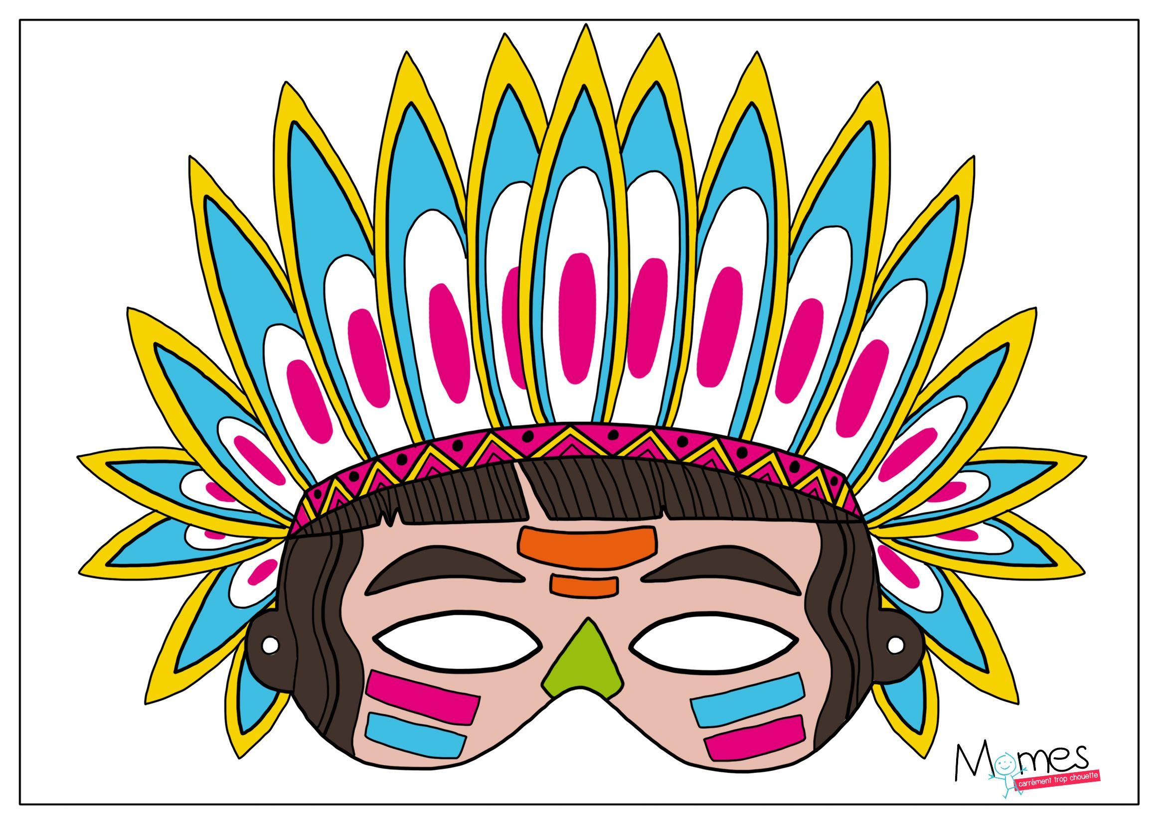 Coloriage Carnaval Momes.Masque A Imprimer Photo Props Masque Mardi Gras Et