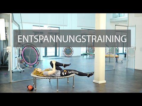 Entspannung finden & Stress abbauen mit dem Minitrampolin | bellicon Deu...