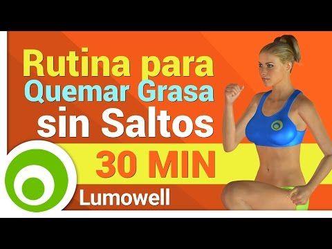 Rutina Quema Grasa sin Saltos para Adelgazar y Tonificar - Ejercicios Total Body - YouTube