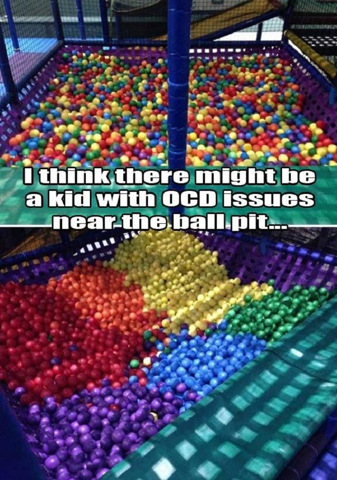 A Kid With OCD Issues