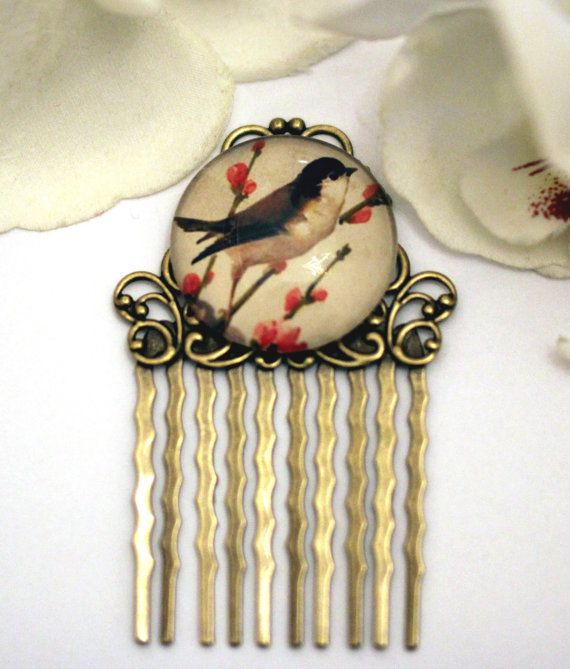 Bird Haircomb.