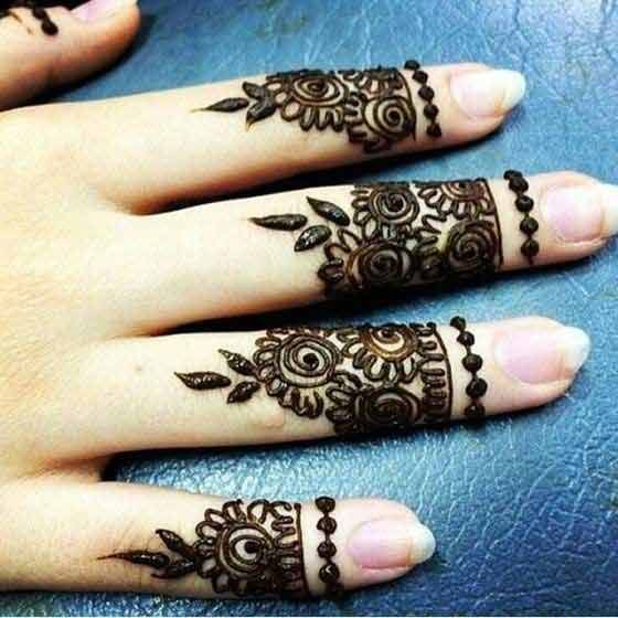 simple arabic finger mehndi designs latest finger mehndi. Black Bedroom Furniture Sets. Home Design Ideas