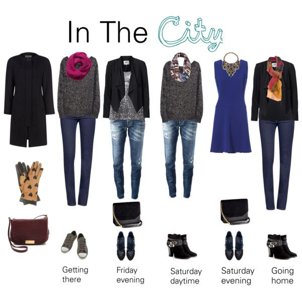 Cold City Break Capsule Wardrobe Carry On Outfits City
