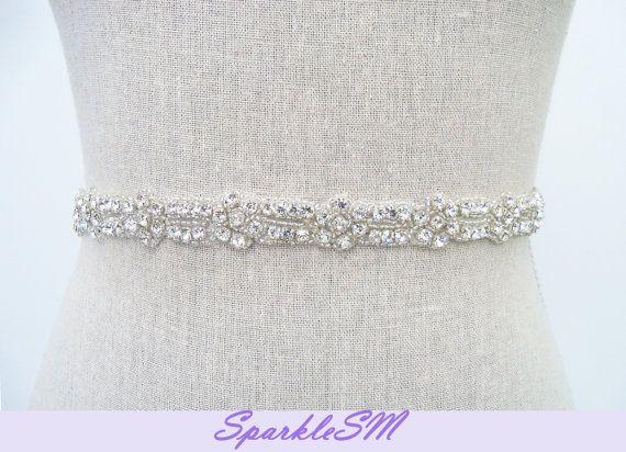 Bridal Belt - un detalle con pedrería