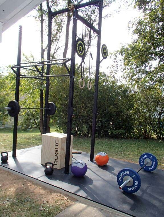 Charmant Outdoor Crossfit Home Gym
