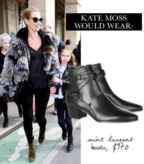 Look at the BOOTS, Gorgeous / Kate Moss