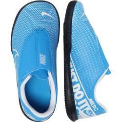Nike Kleinkind Fußballschuhe Halle Jr. Mercurial Vapor 13 Club Ic, Größe 31 ½ in Blau NikeNike