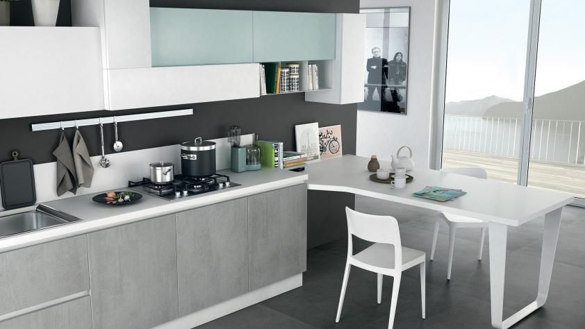 Immagina Neck - Cucine Lube | Bucătari | Pinterest | Living rooms ...