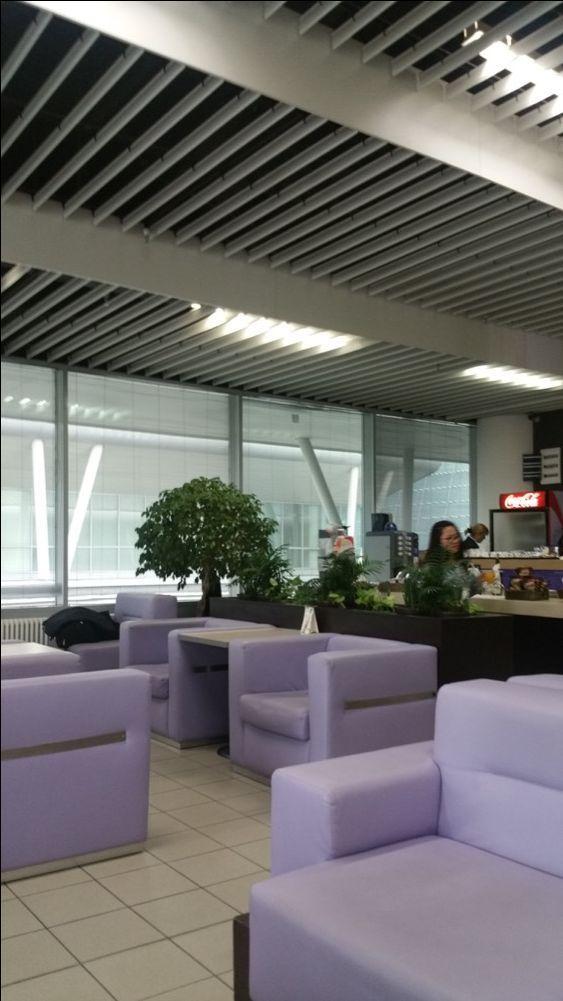 Sofia Terminal 2 Lounge Review; Not Set To Impress