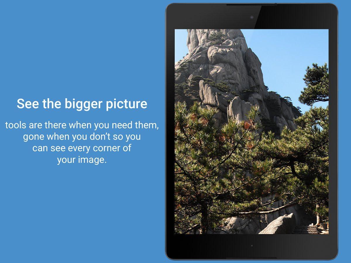 Focus galeria para Android Galerías, Canal de