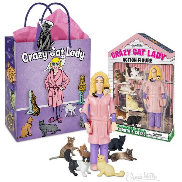 Crazy Cat Lady Gift Bag