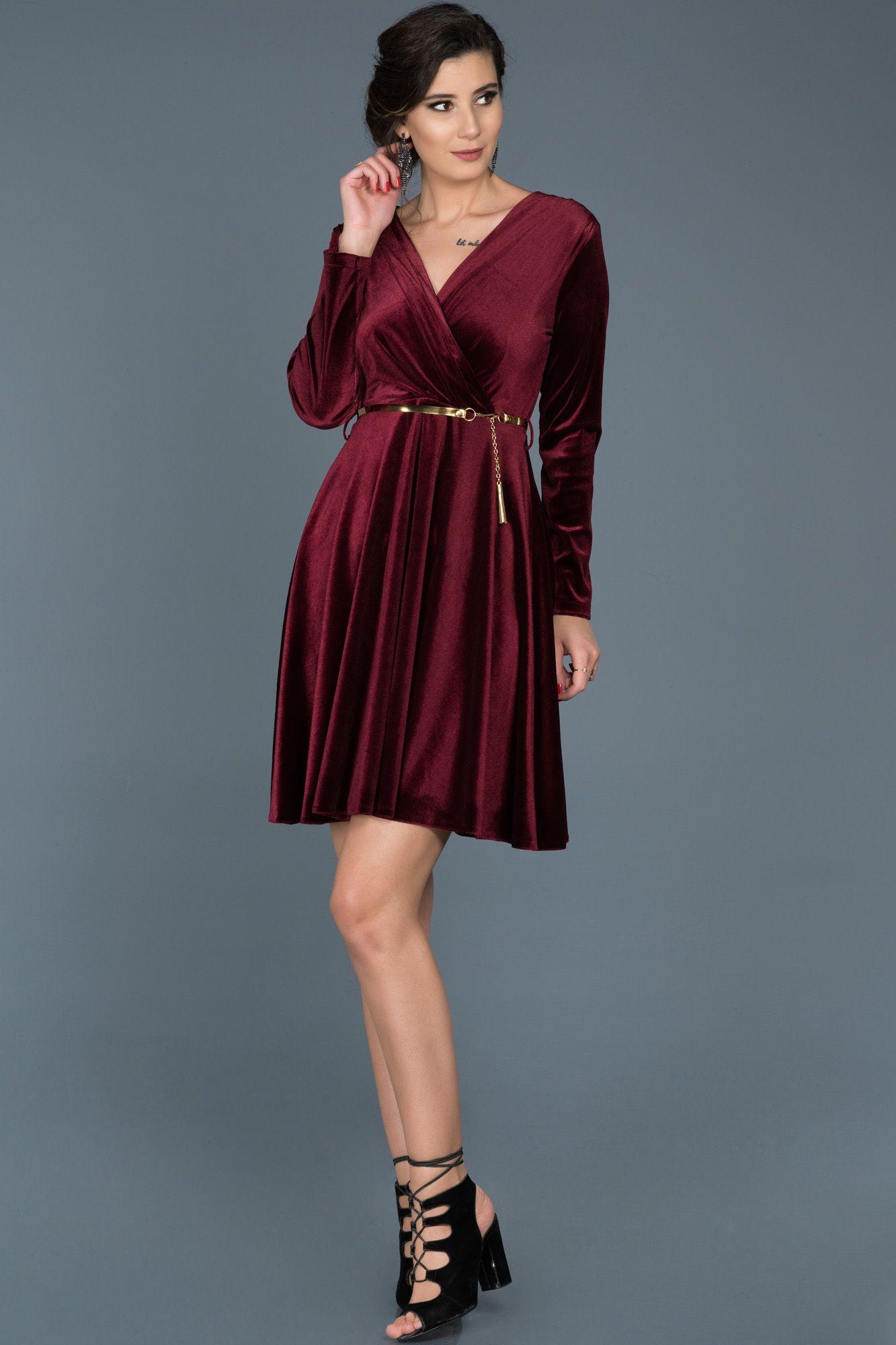 Neva Style Capraz Model Bordo Tesettur Kadife Elbise 50521br Tesetturisland Com Elbise Moda Stilleri The Dress