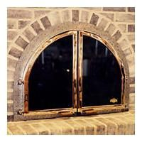arched glass fireplace doors. Beehive Arch Glass Enclosure By Wilkening Fireplace On HomePortfolio Arched Doors A