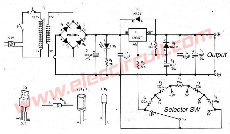 Tattoo Power Supply Schematic For Wiring Schematic Diagram