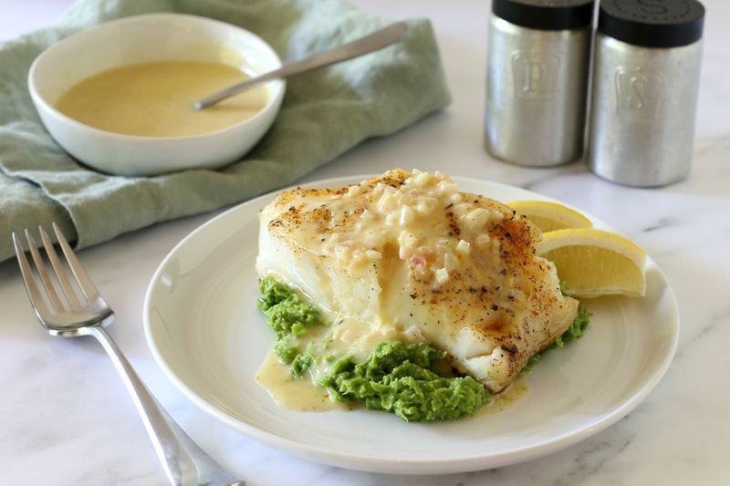 baked chilean sea bass