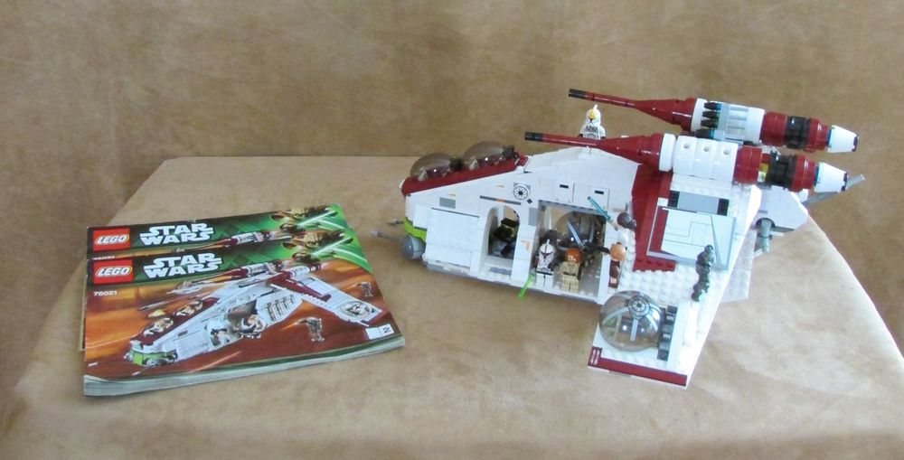 75021 Lego Star Wars Republic Gunship Complete Instructions