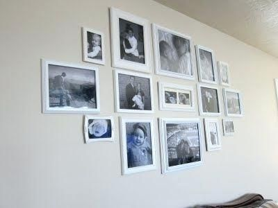 Image Result For How To Hang Multiple Frames On One Wall
