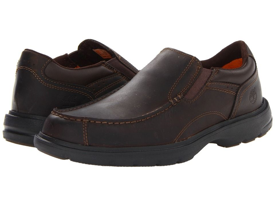 Timberland Mens Earthkeepers? Richmont Slip-Onr Brown Oiled - Loafers