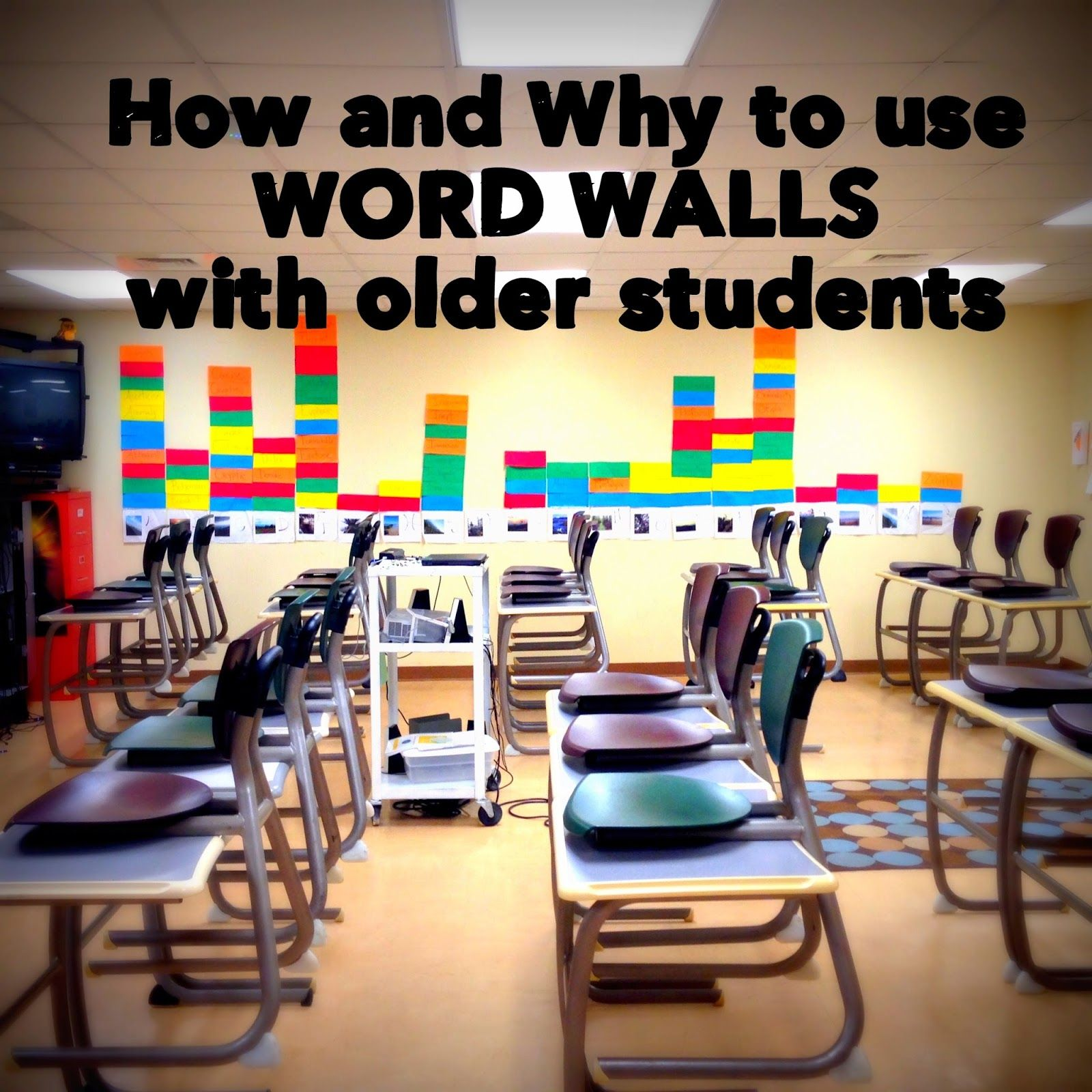 B's Book Love|How and Why to Use Word Walls with Older ...