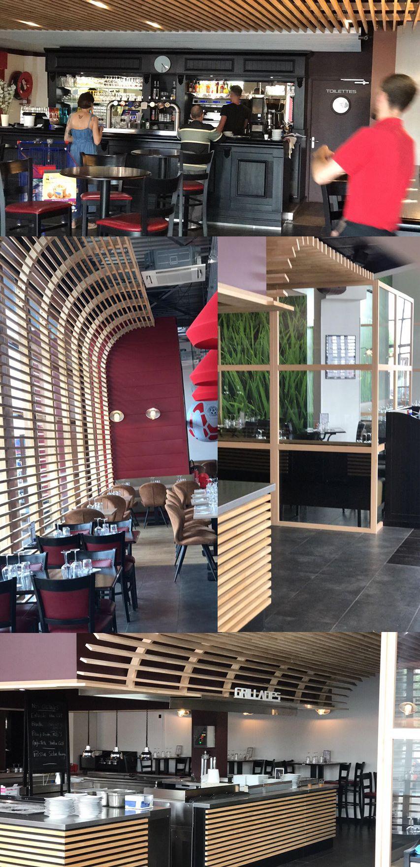 Realisation Plafonds Et Cloisons Bois Ilot Cuisine Verriere Et